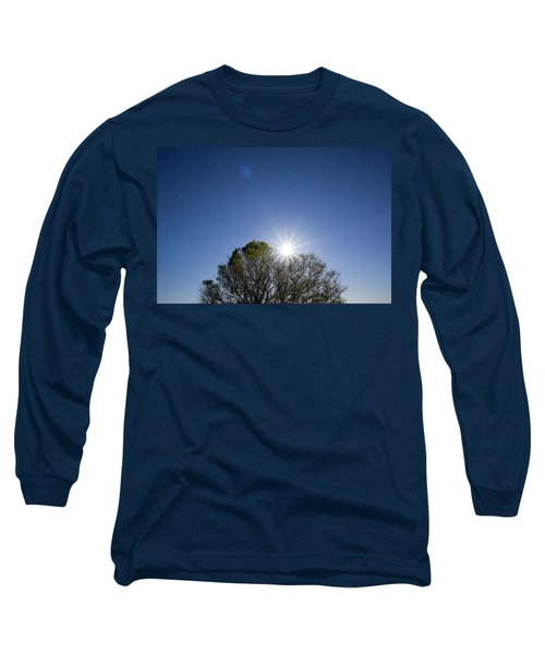 Full Moon Rising Long Sleeve T-Shirt