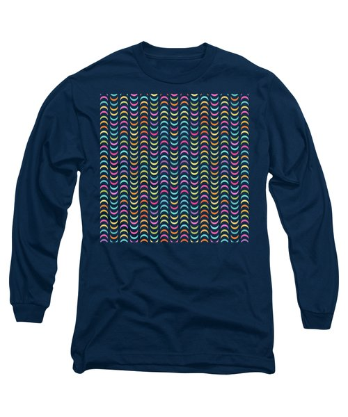 Geometric Pattern Long Sleeve T-Shirt