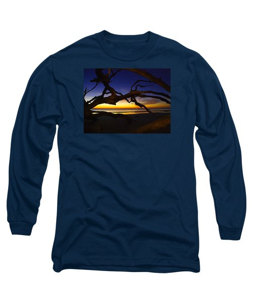Long Sleeve T-Shirt featuring the photograph Golden Moments by Laura Ragland