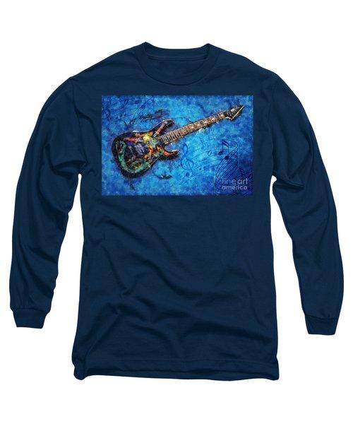 Guitar Love Long Sleeve T-Shirt by Ian Mitchell