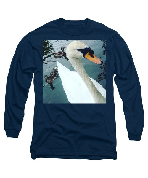 Hakucho Means Swan  Long Sleeve T-Shirt