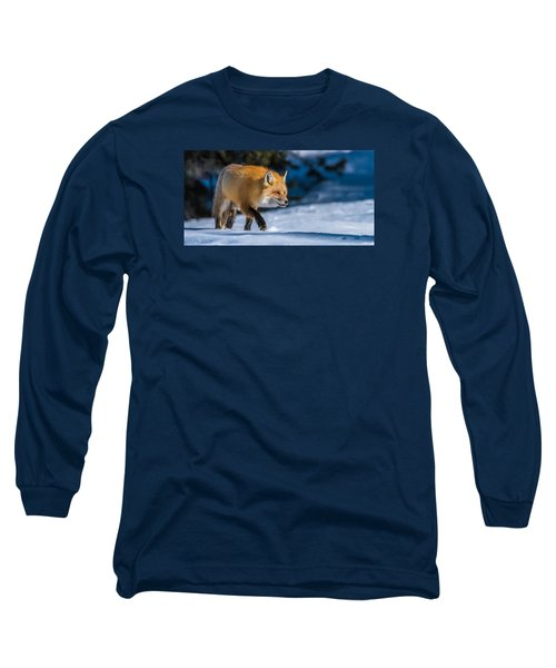 Long Sleeve T-Shirt featuring the photograph Handsome Mr. Fox by Yeates Photography