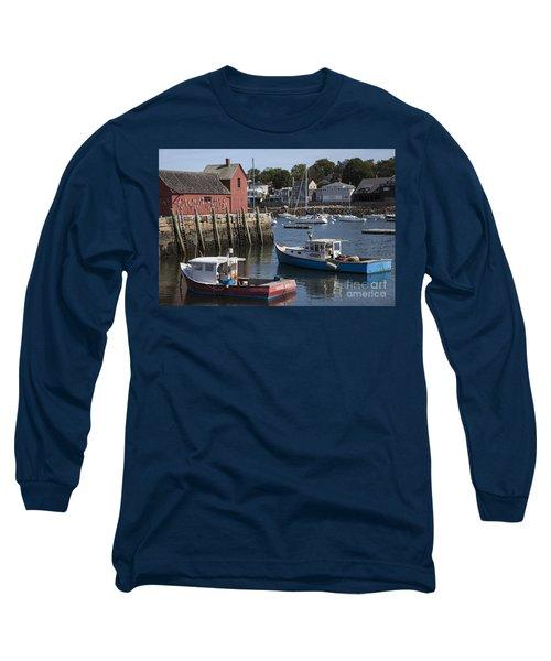 Harbor Boats Long Sleeve T-Shirt
