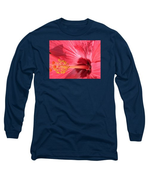 Hibiscus Long Sleeve T-Shirt by Kay Gilley