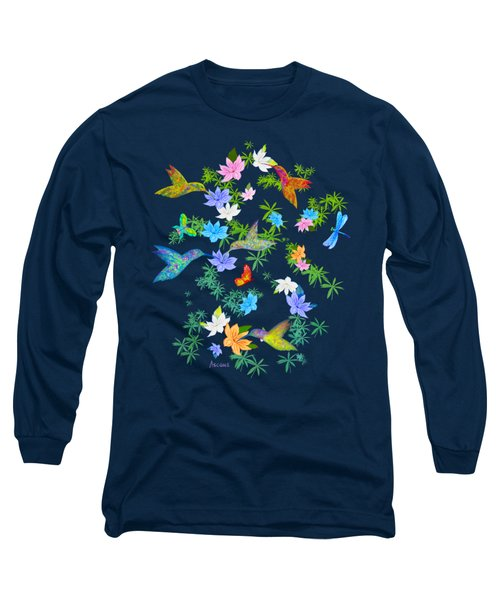 Hummingbird Spring Long Sleeve T-Shirt