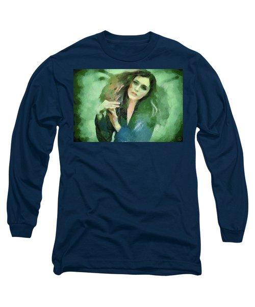 In Vain Long Sleeve T-Shirt by Gun Legler