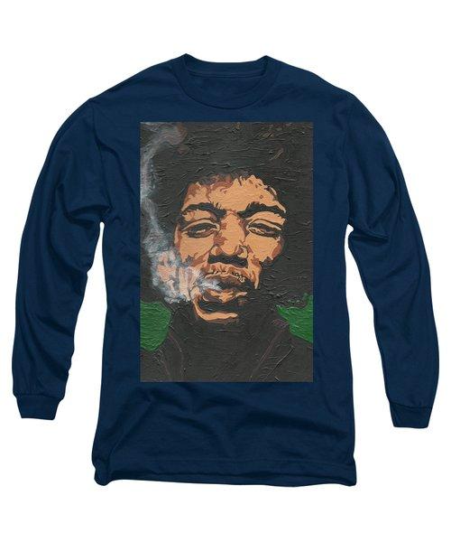 Jimi Hendrix Long Sleeve T-Shirt