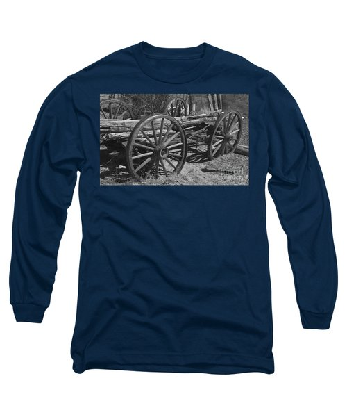 Long Sleeve T-Shirt featuring the photograph  Junk Pile by Debby Pueschel