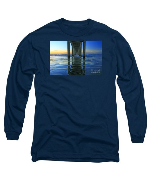 La Jolla Blue  Long Sleeve T-Shirt