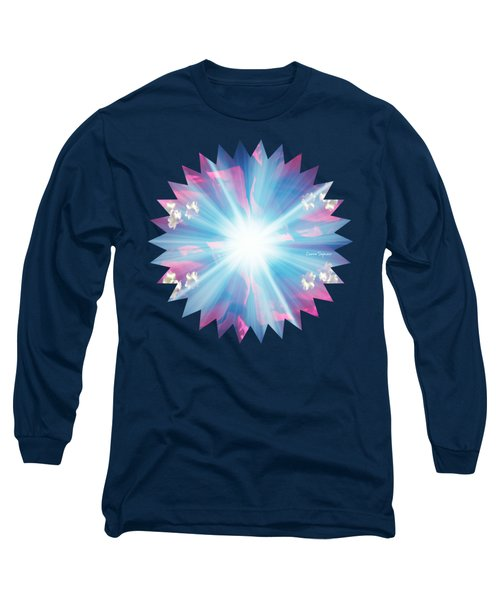 Let There Be Light Long Sleeve T-Shirt by Leanne Seymour