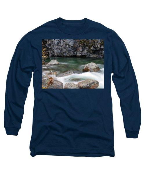 Little Susitna River Long Sleeve T-Shirt by Doug Lloyd