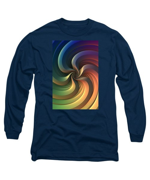 Long Sleeve T-Shirt featuring the digital art Maelstrom by Lyle Hatch