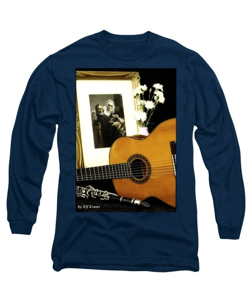 Long Sleeve T-Shirt featuring the photograph Number 2 by Elf Evans