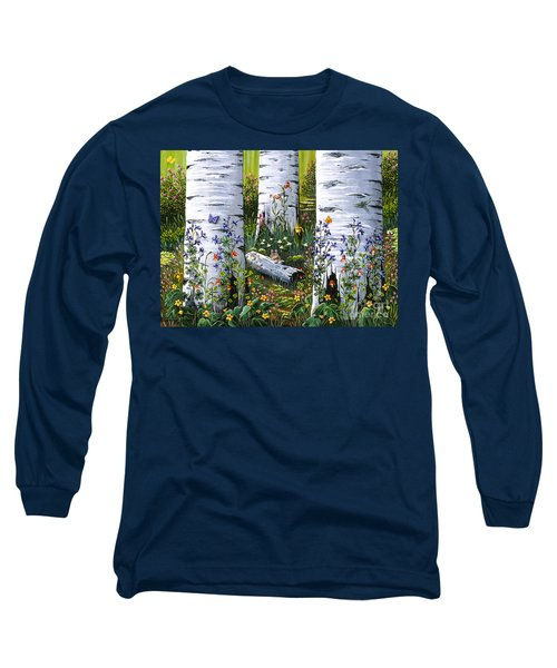 Old Aspen Grove Long Sleeve T-Shirt