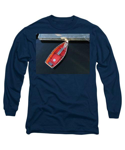 Orange Dinghy Long Sleeve T-Shirt