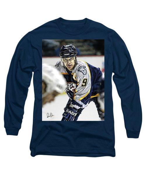 Paul Kariya Long Sleeve T-Shirt by Don Olea