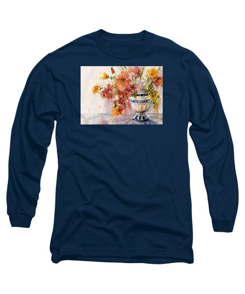 Poppies Long Sleeve T-Shirt by Judith Levins