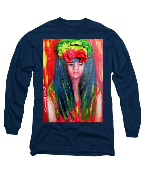 Rasta Girl Long Sleeve T-Shirt