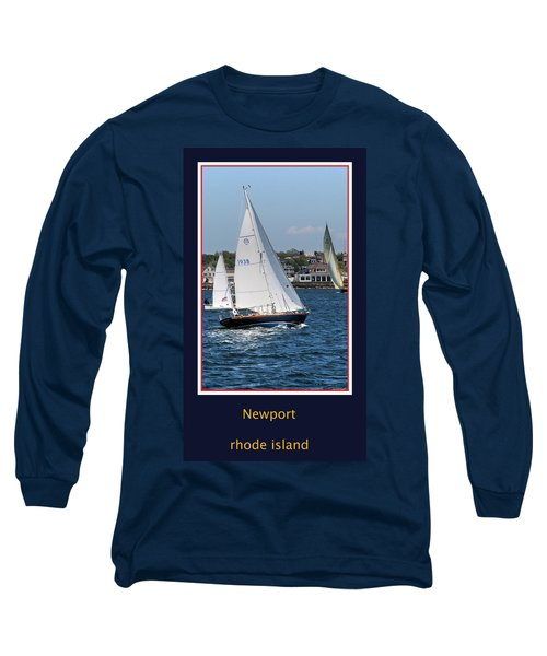 Sailing Newport Long Sleeve T-Shirt