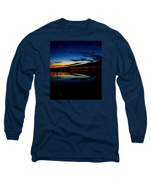 Shades Of Calm Long Sleeve T-Shirt by William Bartholomew