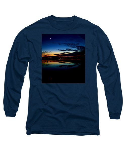 Shades Of Calm Long Sleeve T-Shirt