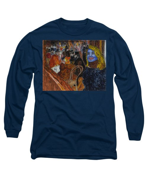 Susan Lautrec Long Sleeve T-Shirt by Phil Strang