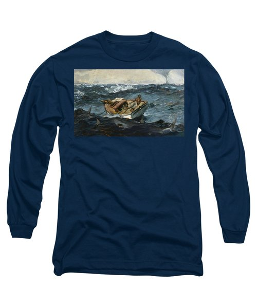 The Gulf Stream Long Sleeve T-Shirt by Winslow Homer