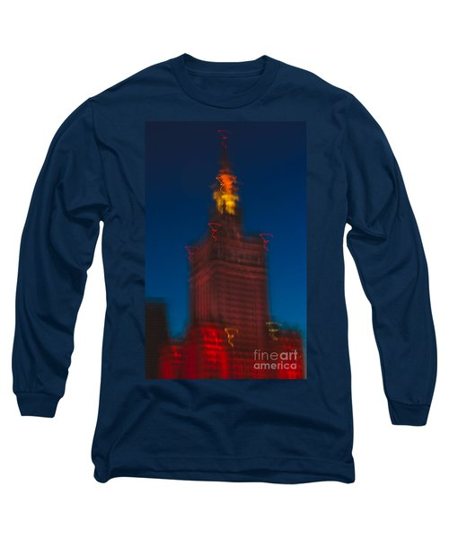 The Palace Of Culture And Science Long Sleeve T-Shirt