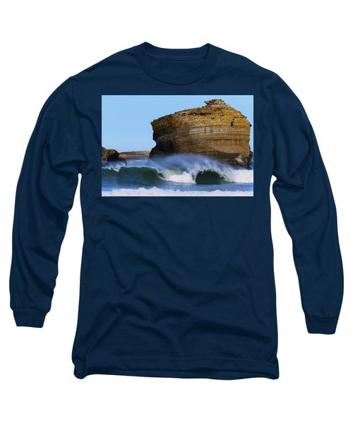 Long Sleeve T-Shirt featuring the photograph The Wave by Thierry Bouriat