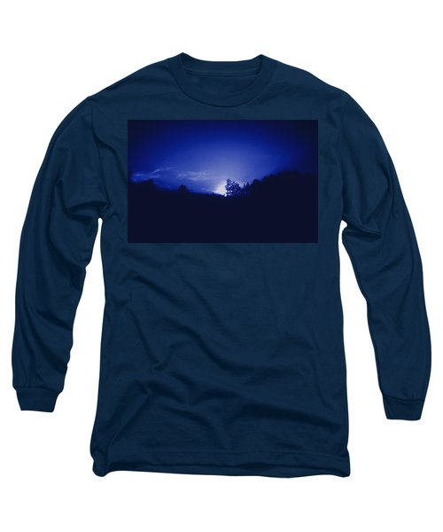 Long Sleeve T-Shirt featuring the photograph Where The Smurfs Live 2 by Max Mullins