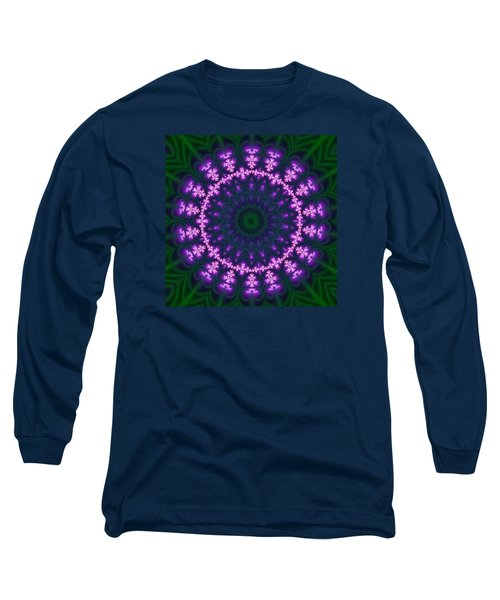 Transition Flower  Long Sleeve T-Shirt by Robert Thalmeier