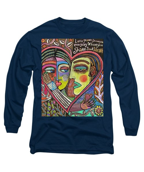 Tree Of Life Heart Lovers Long Sleeve T-Shirt