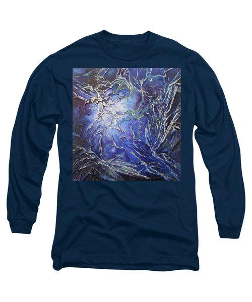 Long Sleeve T-Shirt featuring the mixed media Venus by Angela Stout