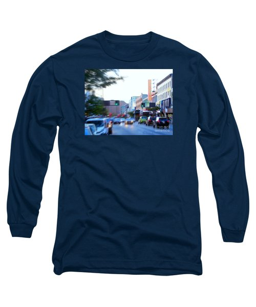 125th Street Harlem Nyc Long Sleeve T-Shirt by Ed Weidman