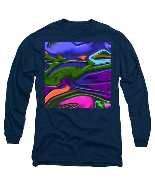 1691 Abstract Thought Long Sleeve T-Shirt