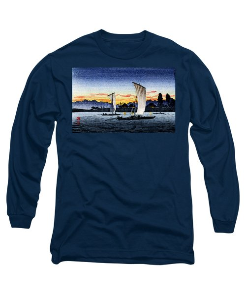 1900 Japanese Fishermen Long Sleeve T-Shirt