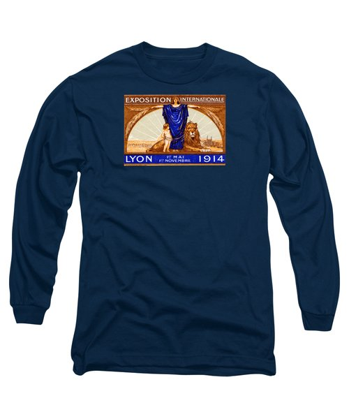 1914 Lyon France Exposition Long Sleeve T-Shirt