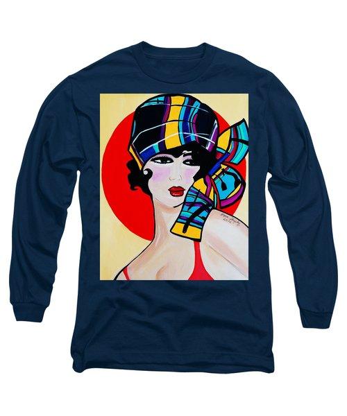 1920's Girl Anna Long Sleeve T-Shirt