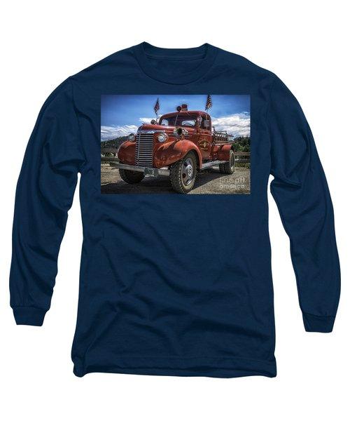 1940 Chevrolet Fire Truck  Long Sleeve T-Shirt