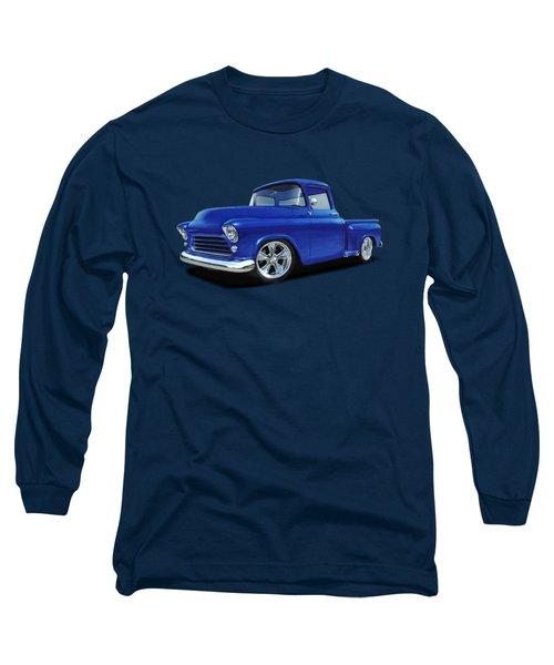 1955 Chevy Stepside Long Sleeve T-Shirt