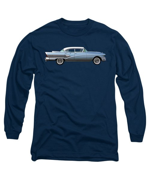1958 Buick Roadmaster 75 Long Sleeve T-Shirt