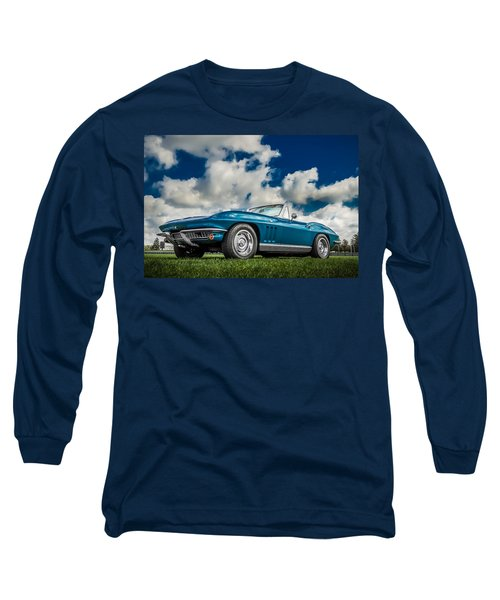 1966 Corvette Stingray  Long Sleeve T-Shirt