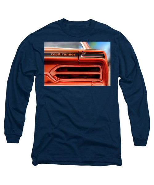 1970 Plymouth Road Runner - Vitamin C Orange Long Sleeve T-Shirt