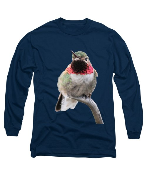 Broad-tailed Hummingbird Long Sleeve T-Shirt