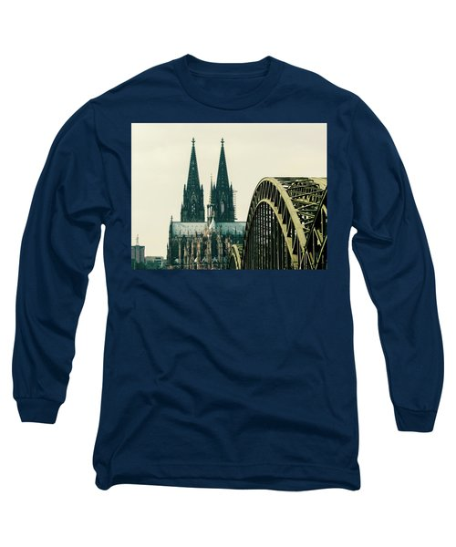 Cathedral Long Sleeve T-Shirt by Cesar Vieira