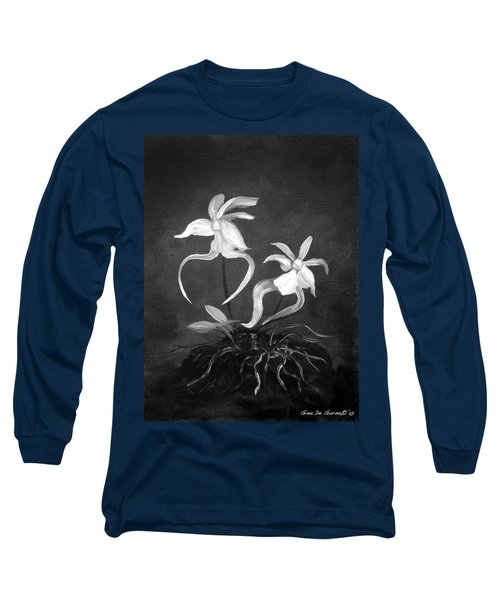 Ghost Orchids Long Sleeve T-Shirt