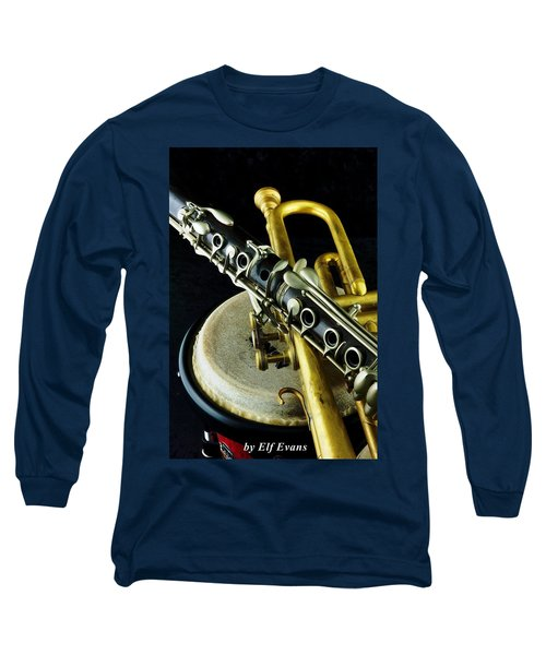Jazz Long Sleeve T-Shirt by Elf Evans