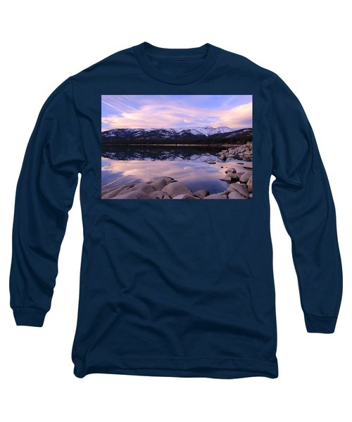 Lake Tahoe Rocks  Long Sleeve T-Shirt