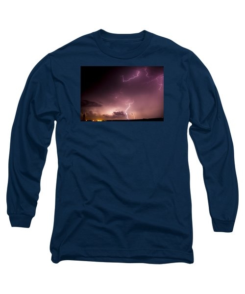 Late July Storm Chasing 057 Long Sleeve T-Shirt