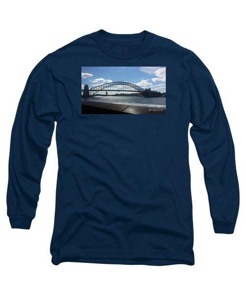 Sydney Harbor Bridge Long Sleeve T-Shirt